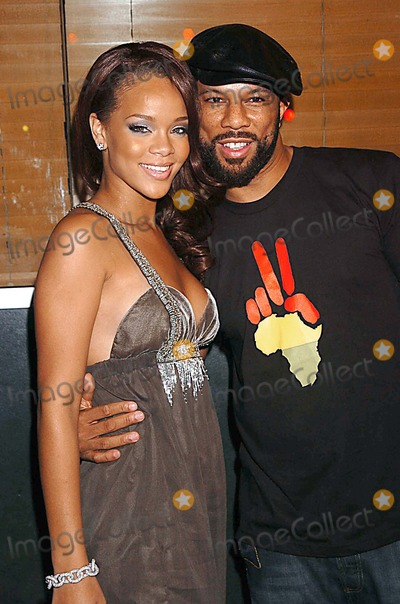 RIHANNA COMMON Photo - Beyonces Birthday Bash and Release of Her b-day Album at the 4040 Club in NYC the 4040 Club New York City NY Photo by John Krondes - Globe Photos Inc 2006 Rihanna and Common
