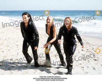 Cameron Diaz Photo -  Charlies Angels Lucy Liucameron Diaz and Drew Barrymore Photo Supplied by Globe Photosinc