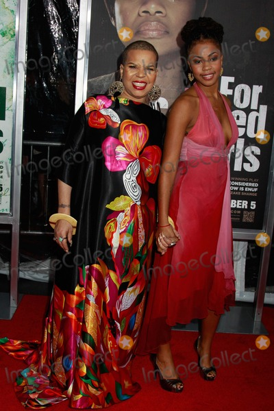 NTOZAKE SHANGE Photo - Lionsgate Films Presents a Special Screening of For Colored Girls the Ziegfeld Theater NYC October 25 2010 Photos by Sonia Moskowitz Globe Photos Inc 2010 Ntozake Shange