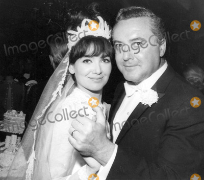 Troy Donahue Photo - Suzanne Pleshette with Her Father Eugene Pleshette at Her Wedding to Troy Donahue 01-06-1964 Photo by Globe Photos