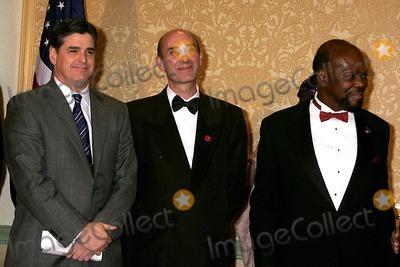 NIGER INNES Photo - 2005 Congress of Racial Equality - Core Awards New York City 01-17-2005 Photo Rick Mackler-rangefinders-Globe Photos Inc 2005 Hugh Grant Roy Innes Niger Innes
