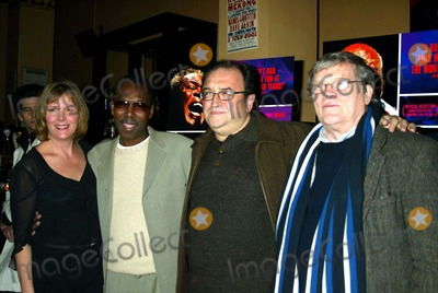 Chris Hegedus Photo - Dvd Release Party For Only the Strong Survive at the Cutting Room New York City 01282004 Photo by Sonia MoskowitzGlobe Photos Inc 2004 Chris Hegedus Wilson Pickett Roger Friedman and Da Pennebaker
