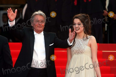 Anouchka Delon Photo - French Actor Alain Delon and Daughter Anouchka Delon Wall Street Money Never Sleeps Premiere 63rd Annual Cannes Film Festival Palais Des Festivals in Cannes  France 05-14-2010 Photo by Alec Michael-Globe Photos Inc 2010