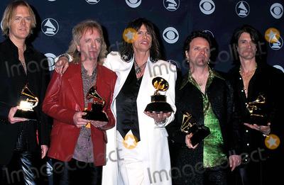 Aerosmith Photo - Sd0224 41st Grammy Awards Shrine Auditorium Los Angeles California Aerosmith Photo Doug Miller  Globe Photos Inc
