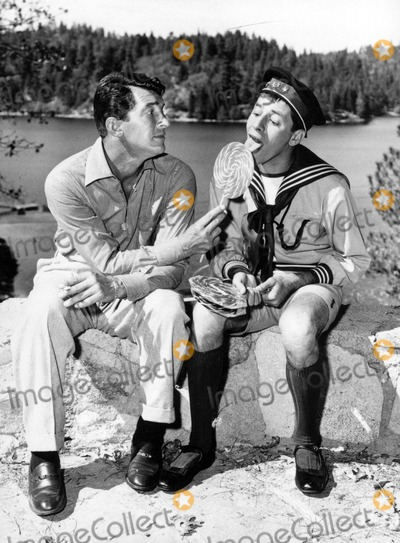 Dean Martin Photo - Dean Martin and Jerry Lewis in youre Never Too Young 1955 1950 Supplied by UppaipolGlobe Photos Inc