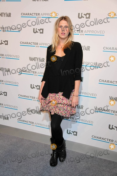 Alexandra Richards Photo - USA Network and Vanity Fair Celebrate Character Approved 2010 Honorees Iac Building NYC 02-25-2010 Photos by Sonia Moskowitz Globe Photos Inc 2010 Alexandra Richards