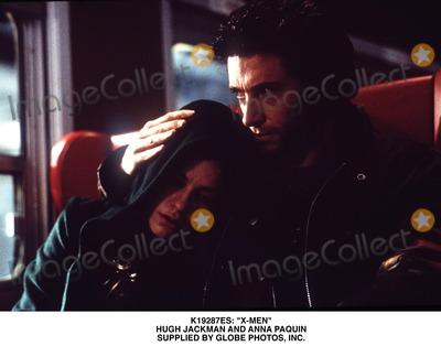Anna Paquin Photo -  x-men Hugh Jackman and Anna Paquin Supplied by Globe Photos Inc