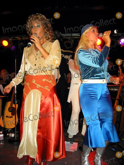 ABBA Photo - a Celebration of the Music of Abba Featuring Katja Nord and Camilla Dahlin(2 Original Members)and the Stockholm Symphonia Perform at Bb Kings Blues Club and Grill NYC 080302 Photo by John KrondesGlobe Photos Inc