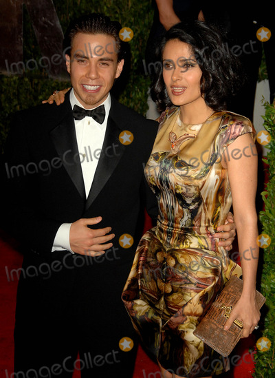 Apolo Anton Ohno Photo - Salma Hayek  Apolo Anton Ohno attends the 2010 Vanity Fair Oscar Party Held at the Sunset Tower Hotel in West Hollywood California on 03 07-10 Photo by D Long- Globe Photos Inc 2010