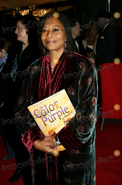 Alice Walker Photo - Opening Night of  the Color Purple  at the Broadway Theatre  New York City12-01-2005 Photo by Barry Talesnick-ipol-Globe Photosinc Alice Walker