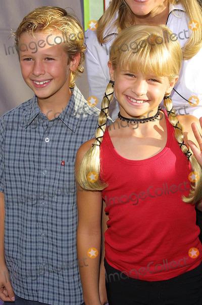 Cayden Boyd Photo - - Freaky Friday - Los Angeles Premiere - at the El Capitan Theatre Hollywood CA - 08042003 - Photo by Kathryn Indiek  Globe Photos Inc 2003 - Cayden Boyd  Jenna Boyd