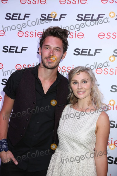 Clare Bowen Photo - Self Magazines Rock the Summer Party Ph-d at Dream Downtown NYC July 16 2013 Photos by Sonia Moskowitz Globe Photos Inc 2013 Sam Palladio Clare Bowen