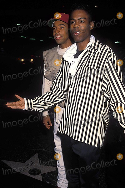 Allen Payne Photo - Photo Michael Ferguson-Globe Photos Inc 1993 Chris Rock Allen Payne