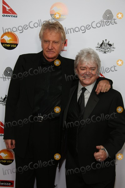 Air Supply Photo - Musicians Russell Hitchcock (L) and Graham Russell of the Band Air Supply Attend the Gday USA Los Angeles Black Tie Gala at Hotel Jw Marriott in Los Angeles USA on 12 January 2013 Photo Alec Michael