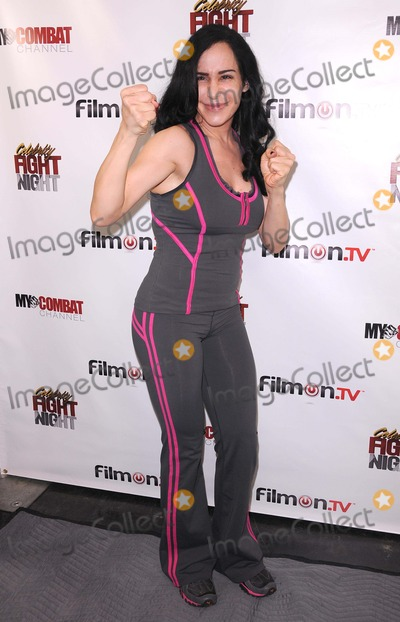 Nadya Suleman Photo - Press Conference For Celebrity Fight Night at 9021go Showroom in Beverly Hills CA 92611 Photo by Scott Kirkland-Globe Photos   2011 Nadya Octomon Suleman