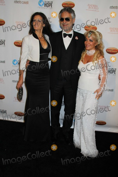 Andrea Bocelli Photo - Simin Hope Foundation Presents a Celebration of All Fathers Gala Paramount Studios Hollywood CA 06062013 Veronica Berti Andrea Bocelli and Simin Hashemizadeh - Charity Founder  Event Host Photo Clinton H Wallace-Globe Photos Inc