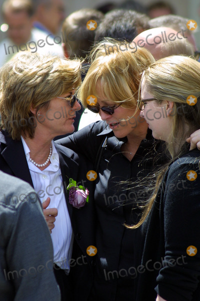 Heather Menzies Photo - Widow Heather Menzies and Joanna Kerns Memorial Service For Actor Robert Urich St Charles Catholic Church North Hollywood CA April 19 2002 Photo by Nina PrommerGlobe Photos Inc2002