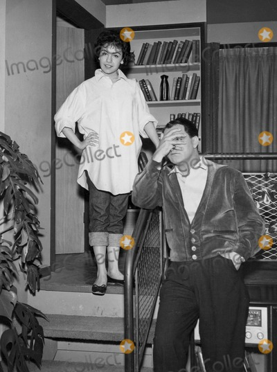 Danny Thomas Photo - Annette Funicello and Danny Thomas on Cbs Tv Network Danny Thomas Show Supplied by SmpGlobe Photos Inc Tvfilm Still