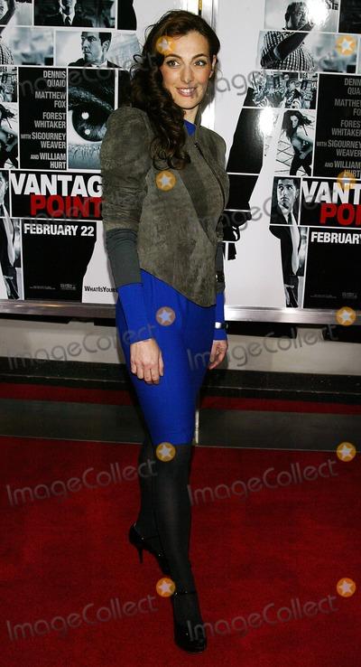 Ayelet Zurer Photo - Vantage Point Premiere Amc Lincoln Square Theatre New York City 02-20-2008 Photo by Terry Gatanis-Globe Photosinc2008 Ayelet Zurer