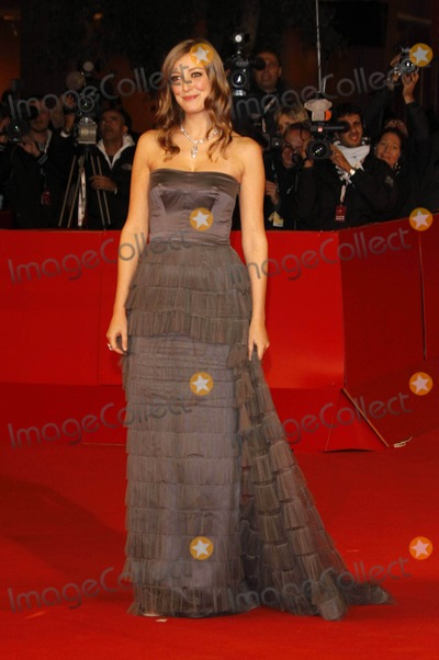 Alexandra Maria Lara Photo - Actress Alexandra Maria Lara (wearing a dress by Ferretti) arrives at the premiere of The City Of Your Final Destination at the 4th Rome International Film Festival at Auditorium Parco della Musica in Rome Italy on october 16th 2009 Photo Alec Michael-Globe Photos Inc  2009K63433AM
