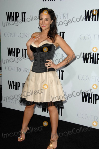 America Olivo Photo - America Olivo attends the Los Angeles Premiere of Whip It Held at the Graumans Chinese Theater in Hollywood California on September 29 2009 Photo by David Longendyke-Globe Photos Inc 2009