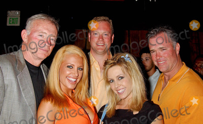 Jerry Jones Photo - Celebrities at Bliss West Hollywood CA 07302004 Photo by Miranda ShenGlobe Photos Inc 2004 Jerry Jones Lisa Ligon Jerry Jones Jr Leigh Ann Spence and Stephen Jones