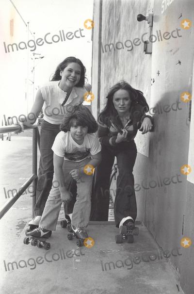 Adam Rich Photo - Susan Richardson with Adam Rich and Connie Newton 1978 Supplied by Globe Photos Inc