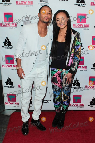 Cymphonique Photo - Romeo and Cymphonique Attend Megachurch Murder Los Angeles Premiere Held at the Harmony Gold Theater on January 29th 2015 in Los Angelescalifornia UsaphototleopoldGlobephotos