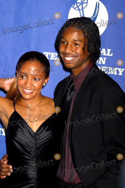 Tanisha Lynn Photo - 31st Annual Creative Craft Daytime Emmy Awards New Yokr Marriott Marquis New York City 05152004 Photo Rick Mackler  Rangefinders  Globe Photos Inc 2004 Michael B Jordan and Tanisha Lynn