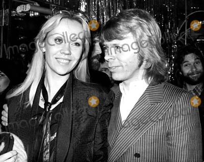 Agnetha Faltskog And Bjorn Ulvaeus