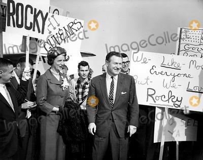 Nelson Rockefeller Photo - Nelson Rockefeller PtGlobe Photos Inc