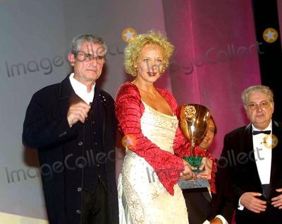 Claude Lelouche Photo -  08272003 Venice 60 Show of the Cinema in Claude Lelouch Consegna LA Coppa Volpi a Katja Riemann LaruffalapresseGlobe Photosinc