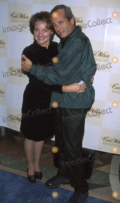 Desi Arnaz Photo -  Carl Wilson Fuondation Benefit Concert El Ray Theatre LA CA 10142001 Desi Arnaz and Wife Amy Photo by Milan RybaGlobe Photosinc