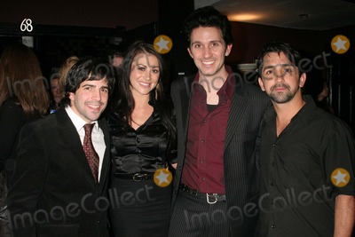 James Madio Photo - West of Brooklyn Los Angeles Premiere Sunset Blvd-theatre 68 Hollywood CA 021908 Danny Cistone-director  Joleigh Fioreavanti with Ronnie Marmo and James Madio Photo Clinton H Wallace-photomundo-Globe Photos Inc