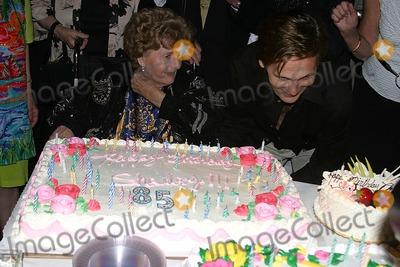 Chris Jones Photo - Legendary Actress Shelley Winters Celebrates Her 85th Birthday Beverly Hills CA 08-18-2005 Photo Clinton Hwallace-photomundo-Globe Photos Inc Shelley Winters and Chris Jones