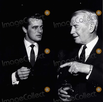 Maurice Chevalier Photo - Robert Goulet Maurice Chevalier A742-17a Supplied by Globe Photos Inc