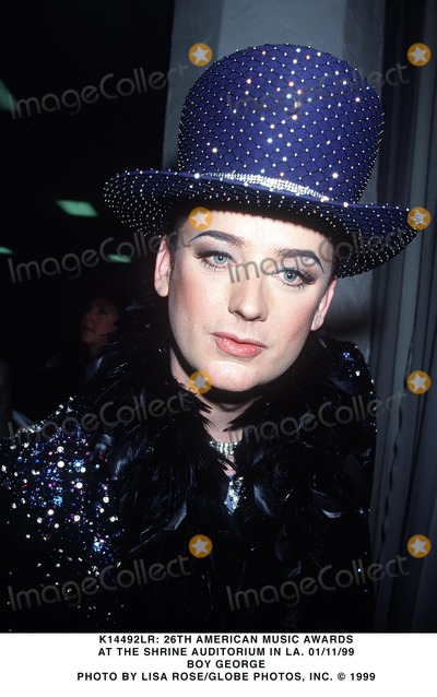 Boy George Photo - 011199 American Music Awards at Shrine Auditorium in LA CA Boy George Photo by Lisa RoseGlobe Photos Inc