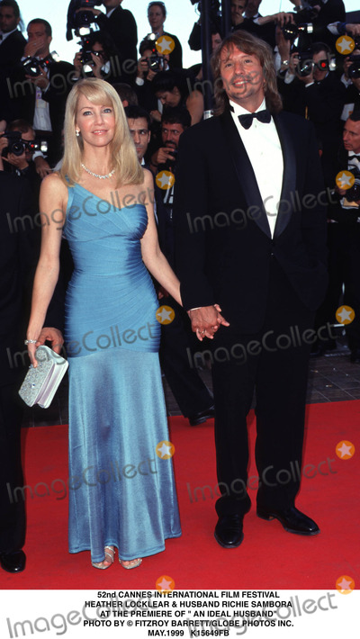 Heather Locklear Photo - 0599 52nd Cannes International Film Festival Heather Locklear  Husband Richie Sambora at the Premiere of an Ideal Husband Photo by Fitzroy BarrettGlobe Photos Inc