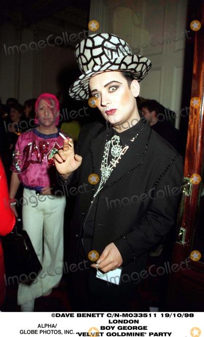 Boy George Photo - 1098 Lond0n Boy George -Velvet Goldmine Party