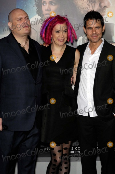 Andy Wachowski Photo - Andy Wachowski Lana Wachowski and Tom Tykwer During the Premiere of the New Movie From Warner Bros Pictures Cloud Atlas Held at Graumans Chinese Theatre on October 24 2012 in Los Angeles Photo Michael Germana - Globe Photos