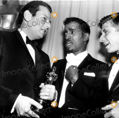 Andre Previn Photo - -21 36th Annual Academy Awards Andre Previn_sammy Davis Jr_ Elmer Bernstein Globe Photosinc