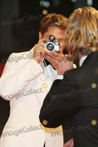 Andrew Dominik Photo - Brad Pitt Andrew Dominik Actor  Director Premiere of the Assassination of Jesse James by the Coward Robert Ford at the 64th Film Fest in Palazzo Del Cinema Venice Italy 09-02-2007 Photo by Graham Whitby Boot-allstar-Globe Photosinc