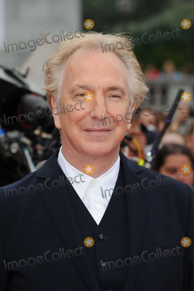 Alan Rickman Photo - Alan Rickman Actor at the Harry Potter and the Deathly Hallows - Part 2 - World Premiere Photo by Neil Tingle-Allstar-GlobePhotos Inc