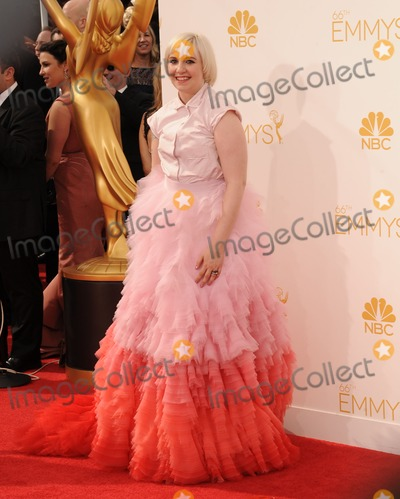 Lena Dunham Photo - Lena Dunham Jack Antonoff attending the 66th Annual Primetime Emmy Awards - Arrivals Held at the Nokia Theatre in Los Angeles California on August 25 2014 Photo by D Long- Globe Photos Inc