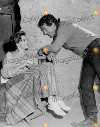 Dean Martin Photo - Angie Dickinson with Dean Martin in Deputy Sheriff 4-1-1959 Supplied by Smp-Globe Photos Inc Tv-film Still