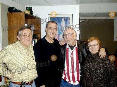 Al Goldstein Photo - Ron Striano (the Strangeloves) Joey Reynolds (Radio Personality) AL Goldstein (Editor of Screw Magazine) and Myra Chanin Photo Mark Kasner-Globe Photos Inc