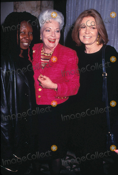 Ann Richards Photo - Ann Richards with Gloria Seinem and Whoopi Goldberg at Matrix Awards at Hilton Hotel in New York 04-15-1996 Photo by Anthony Savignano-ipol-Globe Photos Inc Annrichardsretro