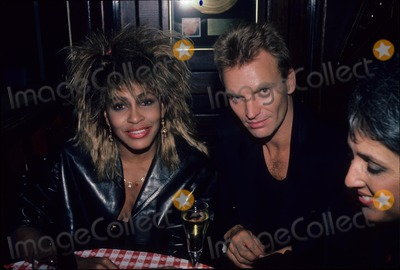 Tina Turner Photo - Sting with Tina Turner 1985 F1433 Supplied by Globe Photos Inc
