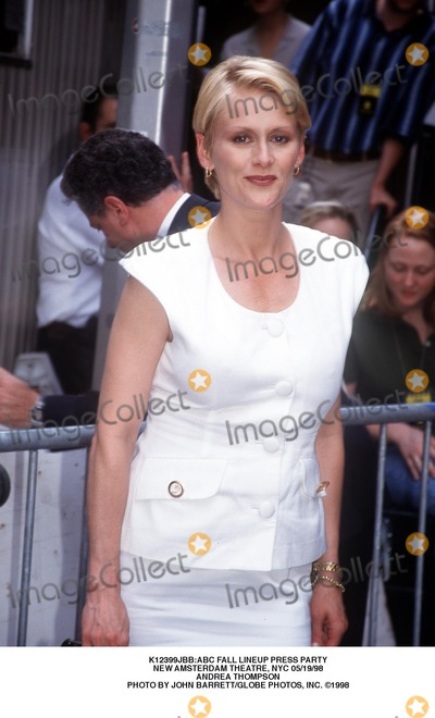 Andrea Thompson Photo - abc Fall Lineup Press Party New Amsterdam Theatre NYC 051998 Andrea Thompson Photo by John BarrettGlobe Photos Inc