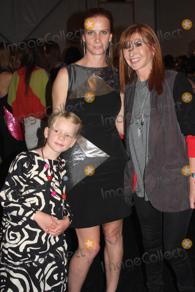 Adelaide Taylor Photo - New York Fashion Week Nicole Miller Show at Lincoln Center 09-09-2011 Photo by Barry Talesnick-Globe Photos Inc Rachel Griffiths with Daughter Adelaide Taylor and Nicole Miller